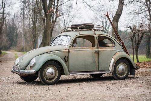 Dieser VW Typ 1 von 1952 erzielte bei Sotheby's 58 240 Euro.