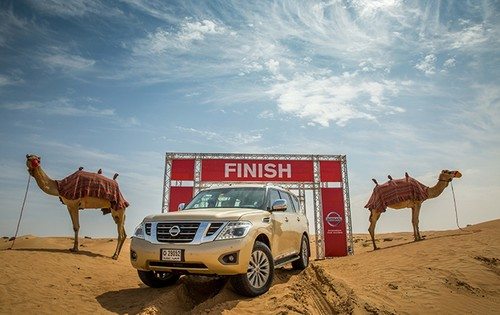 Nissan führt in der Golf-Region für Geländewagen die Leistungsangabe CP (Camelpower) statt PS (Pferdestärke) ein.