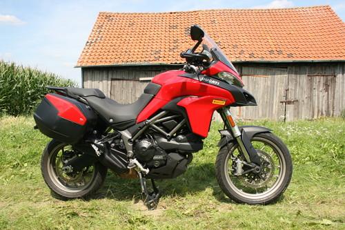 Ducati Multistrada 950 Touring.