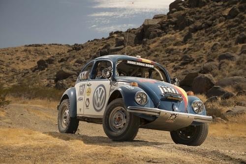 Baja 1000: Der VW Käfer ist immer noch dabei und fährt in einer eigenen Klasse.