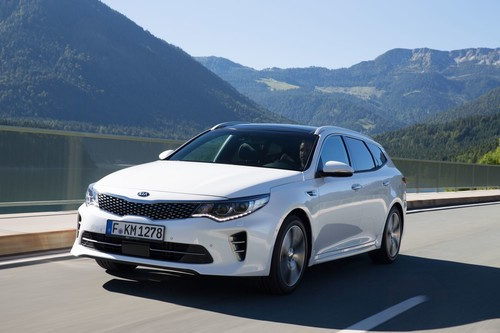 Kia Optima Sportswagon.
