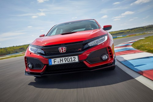 Honda Civic Type R.