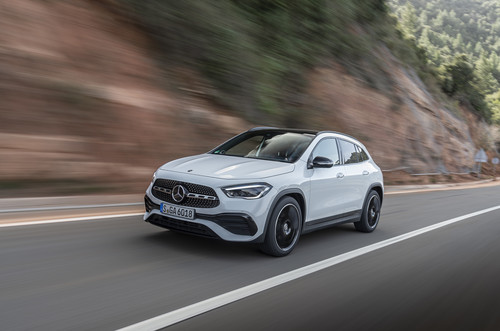 Mercedes-Benz GLA 250.