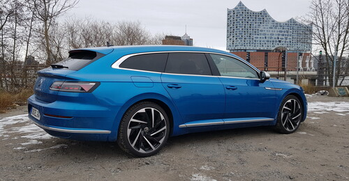 VW Arteon Shooting Brake.