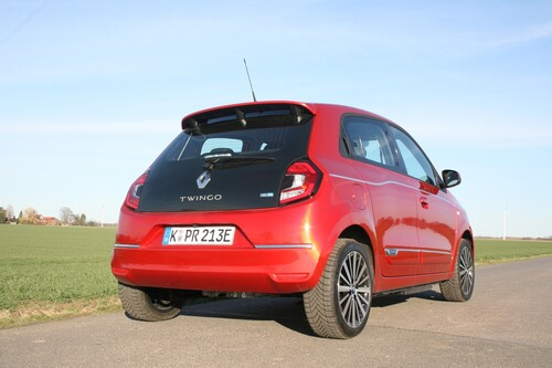 Renault Twingo Electric.
